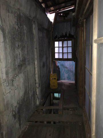 2階部分 3階へ向かうための廊下