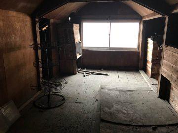 3階部分 8畳ほどの屋根裏部屋です。