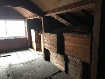 3階部分 山側の収納スペース
