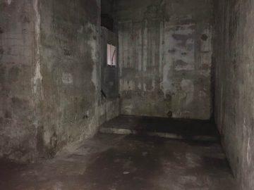 貯氷倉庫の中は20畳ほどの広さです。