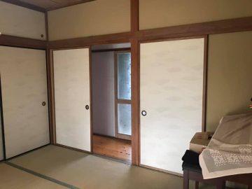1つ目の和室8畳