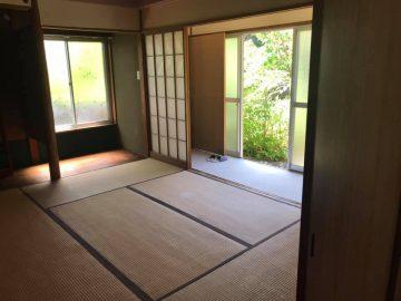 とても明るい6畳の和室