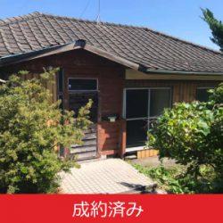 【成約済み】岡田港から徒歩1分。人気の船底天井の古民家