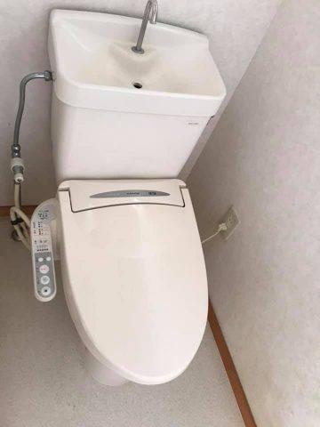 洋式ウォシュレットトイレ