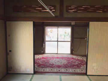 絨毯敷の6畳