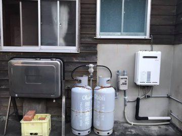 ガスと給湯器