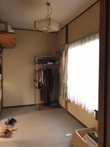 長方形の洋室