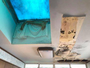 玄関右横の和室6畳の庭側にある洋室6畳(雨漏りあり)